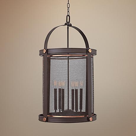 "Hinkley Holden 19 1/2"" Wide Buckeye Bronze Foyer Pendant"