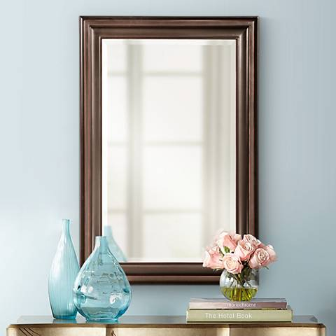 "George Oil Rubbed Bronze 24"" x 36"" Mirror"