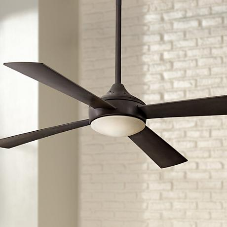"52"" Minka Aire Aluma Oil-Rubbed Bronze Ceiling Fan"