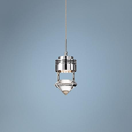 "Elan Essex 3 1/4"" Wide Chrome LED Mini Pendant"