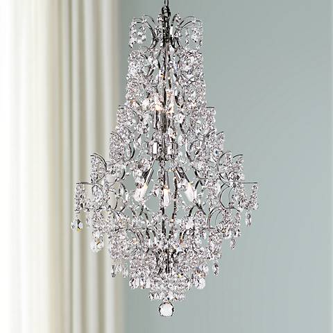 "Enna 19"" Wide Polished Chrome 5-Light Chandelier"