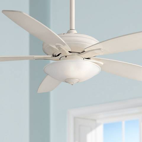 "52""  Minka Aire Mojo - Bone White Ceiling Fan"