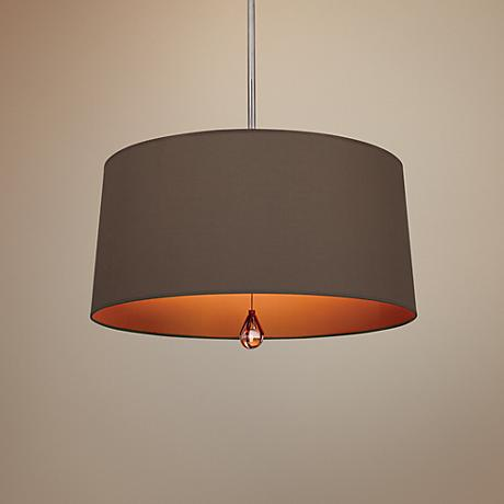 "Custis Collection 25 1/2"" Wide Revolutionary Storm Pendant"