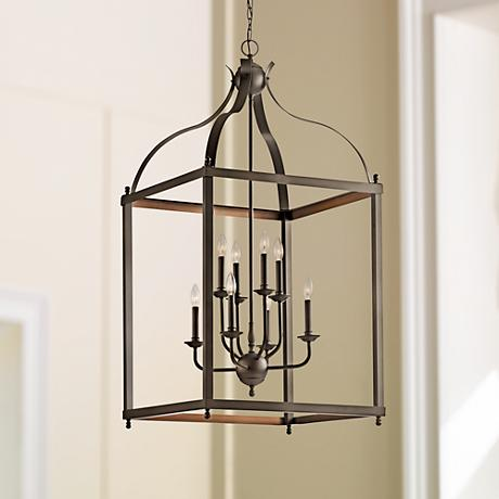 "Kichler Larkin 24"" Wide Olde Bronze Foyer Pendant Light"