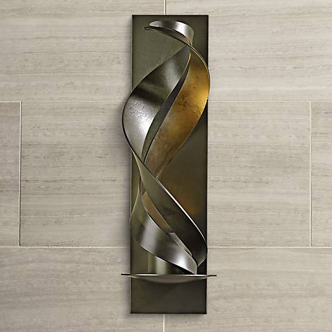 "Hubbardton Forge Folio Dark 17 1/2"" High Wall Sconce"
