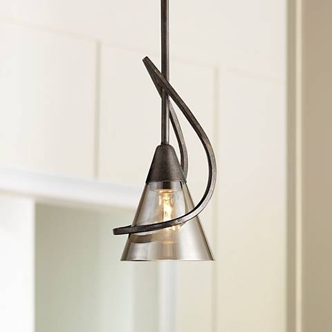 "Olympia 6"" Wide Burnt Sienna Mini Pendant"