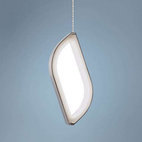 Tech Lighting FreeJack Folium LED Satin Nickel Mini-Pendant