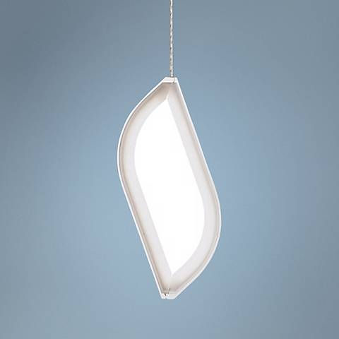 Tech Lighting FreeJack Folium LED White Mini-Pendant