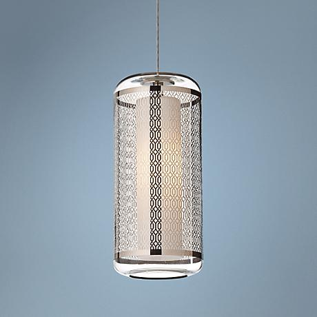 Tech FreeJack Ecran LED Lattice Platinum Mini-Pendant