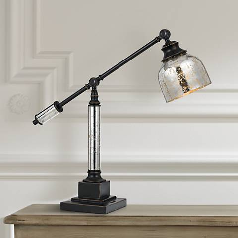 Dawson Dark Bronze Desk Lamp