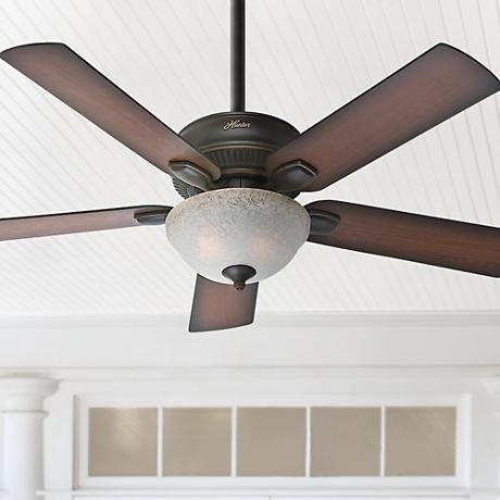 "52"" Hunter Matheston Outdoor Ceiling Fan"