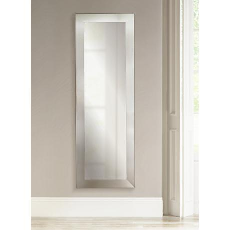 "Ailey Silver Wide 26"" x 64"" Floor Mirror"