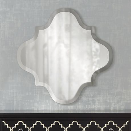 "Ellenton 30"" x 30"" Frameless Wall Mirror"