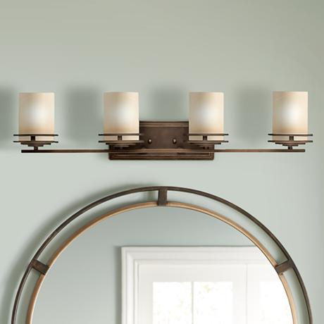 Perfect  Bronze Bathroom Vanity Ceiling Lights Amp Chandelier Lighting Fixtures