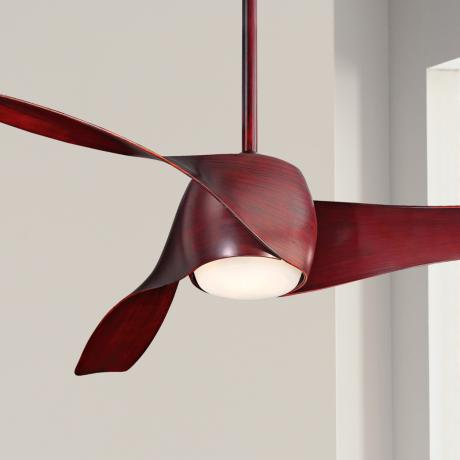 "58"" Minka Aire Artemis Mahogany Finish Ceiling Fan"
