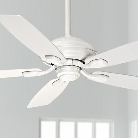 "52"" Casablanca Utopian Snow White Energy Star Ceiling Fan"