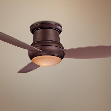 "52"" Minka Aire Concept II Wet Location Hugger Ceiling Fan"