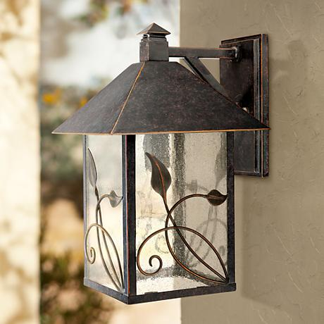"French Garden Collection 15"" High Outdoor Wall Light"