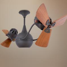 "42"" Matthews Vent Bettina Bronze Ceiling Fan"