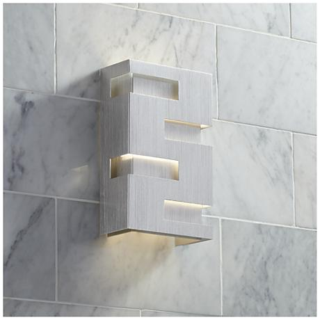 "Possini Euro Design 10"" High Cutout Wall Sconce"