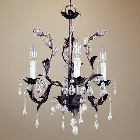 Grove Collection Crystal Accent Chandelier