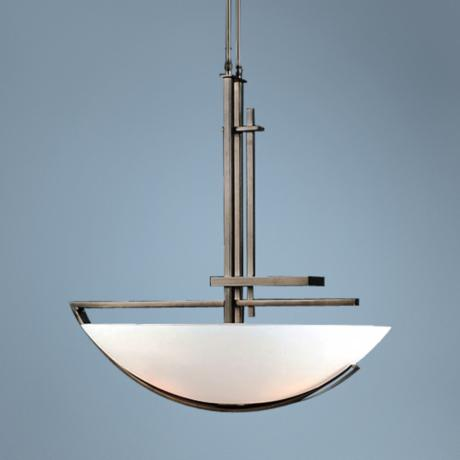 Hubbardton Forge Fullered Collection Pendant Chandelier