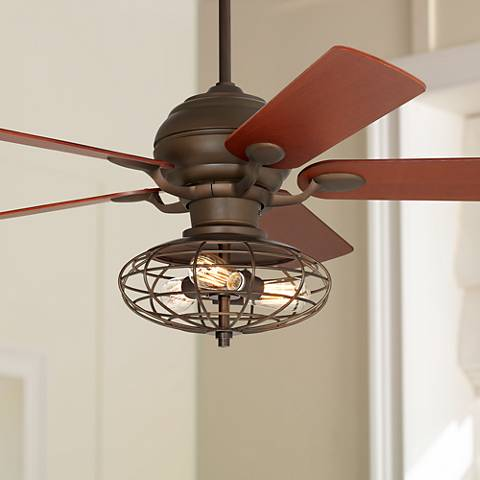 "52"" Casa Optima™ Oil-Rubbed Bronze Ceiling Fan"