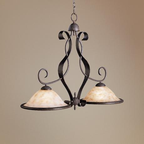 "High Country Collection 41"" Wide Island Chandelier"