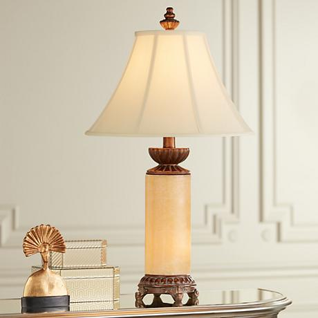 Onyx Night Light Table Lamp