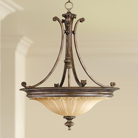 "Feiss Stirling Castle Collection 22"" Wide Pendant Chandelier"