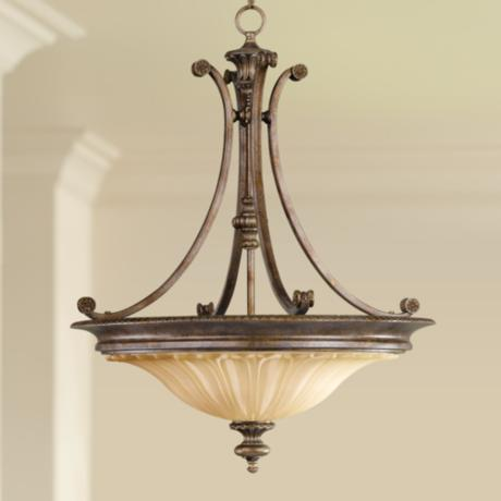 "Stirling Castle Collection 22"" Wide Pendant Chandelier"