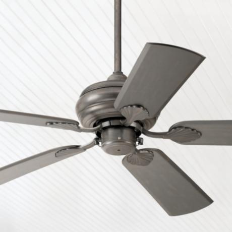 "52"" Tropical Bronze Outdoor Rated Pull Chain Ceiling Fan"