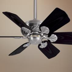 "31"" Casablanca Wailea Brushed Nickel Ceiling Fan"