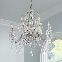 Crystal Chandeliers at LAMPS PLUS
