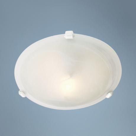 "Orb Collection 11 3/4"" Wide Ceiling Light Fixture"