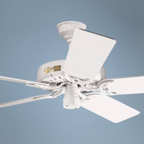 "52"" Classic Original White Ceiling Fan"