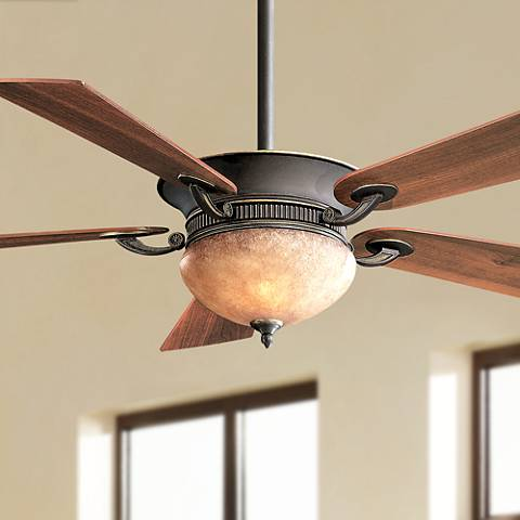 "52"" Delano Dark Restoration Bronze Ceiling Fan"