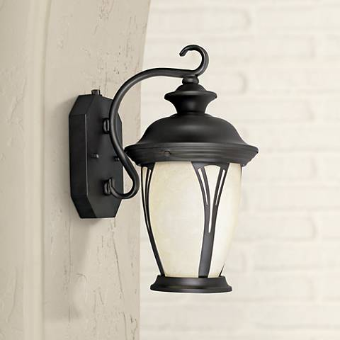 "Westchester 12 3/4"" High Dusk to Dawn Outdoor Wall Light"