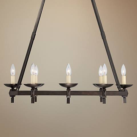 "Balsimo 31 1/2"" Wide Spanish Traditional Island Chandelier"