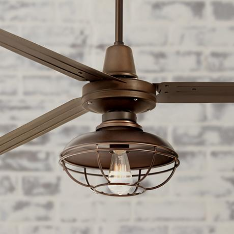 72 Turbina XL Franklin Park Oil Rubbed Bronze Ceiling Fan