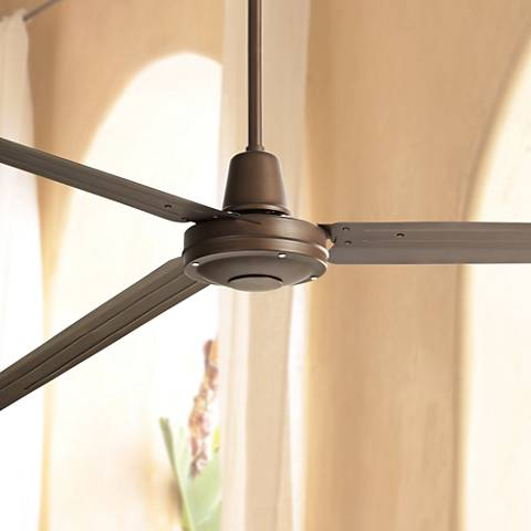 "84"" Turbina XL™ Oil-Rubbed Bronze Ceiling Fan"