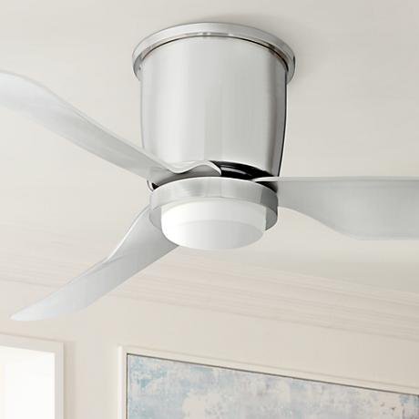 "44"" Innovator™  Brushed Nickel LED Hugger Ceiling Fan"