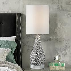 Crystal Silver Table Lamps Lamps Plus Open Box Outlet Site