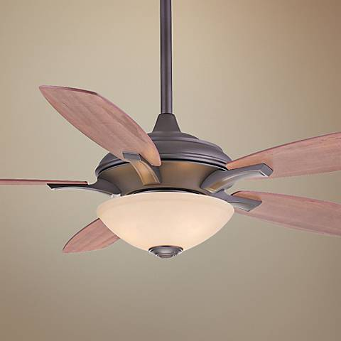 "52"" Minka Aire Hilo Oil-Rubbed Bronze Ceiling Fan"