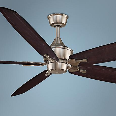 "80"" Fanimation Big Island Brushed Nickel Ceiling Fan"