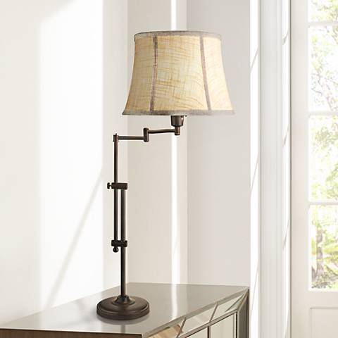 Whitfield Madison Bronze Swing Arm Desk Lamp