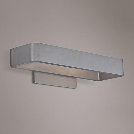 "WAC Janus 17"" High Graphite LED Outdoor Wall Light"