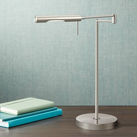 Dimond Laconia Adjustable Chrome LED Desk Lamp