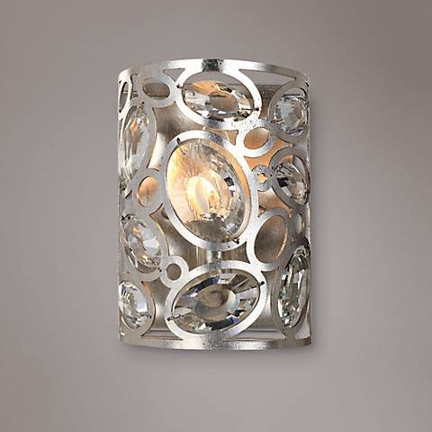 "Crystorama Sterling 8 1/4"" High Twilight Wall Sconce"