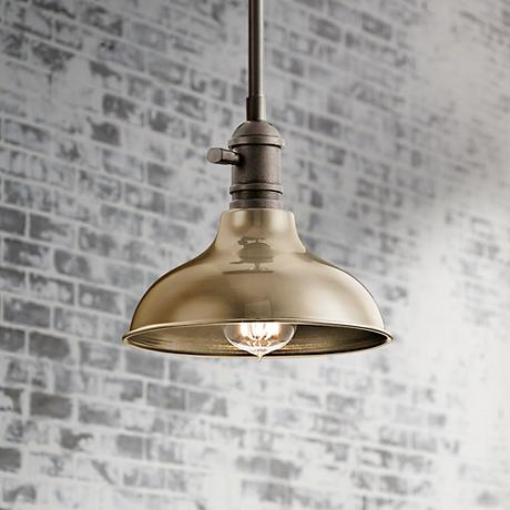 "Cobson 8"" Wide Nickel Wall Sconce Convertible Mini Pendant"